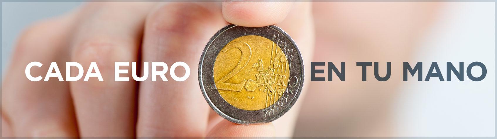 Cada Euro en tu Mano